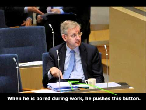 Carl Bildt Drum'n'Bass