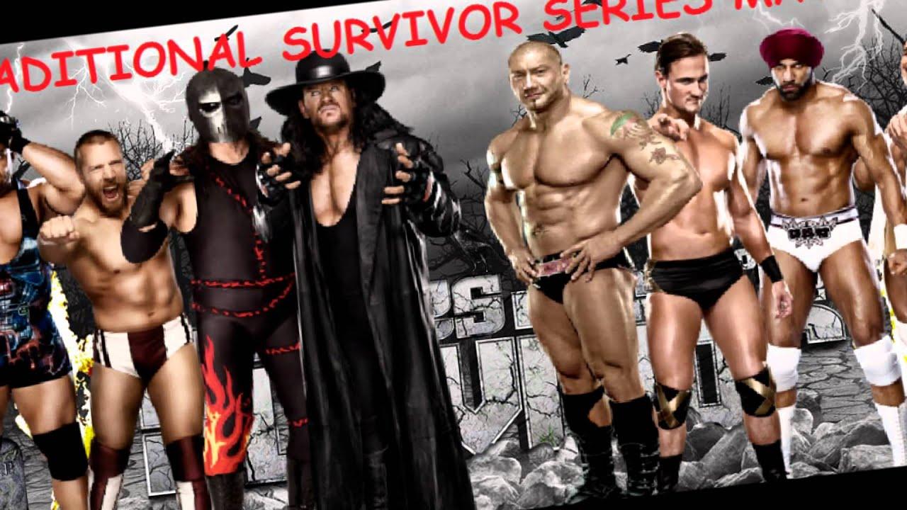 Wwe Survivor Series Dream Teams my Survivor Series 2012 Dream