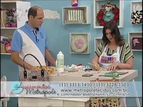 Ateliê na Tv - Tv Século - 17-11-12