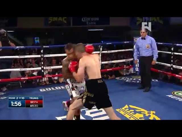 Golden Boy Live: Gesta vs. Arceo - Fight Network Recap