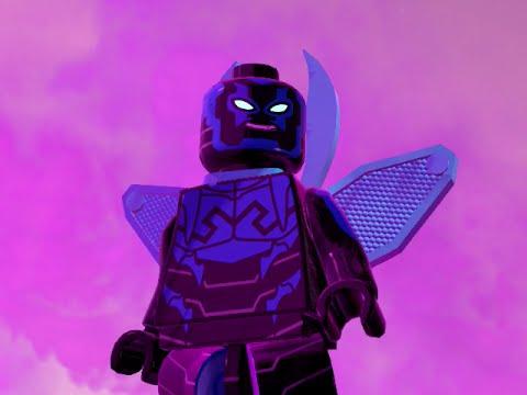 LEGO BATMAN 3 - Blue Beetle, Kid Flash, Reverse Flash and Green Loontern Gameplay!