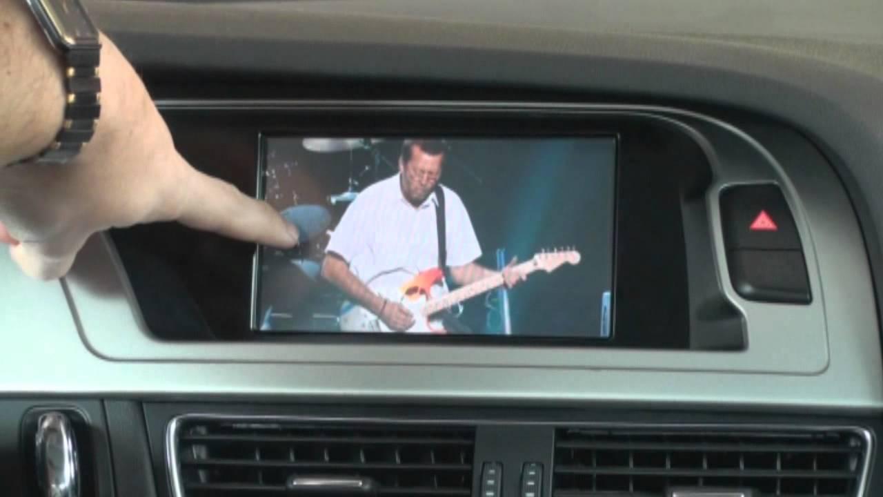 AUDI A4 2011 com GPS, DVD, iPod, Bluetooth, USB, Pendrive no Touch Screen e TV digital - YouTube