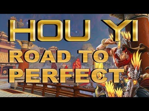 SMITE! Hou Yi, ADCs? pues vamos al lio! Road to Perfect #4