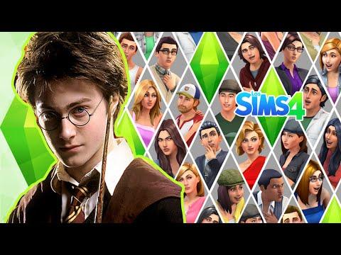 RETO CAS DEMO -  Harry Potter en Los Sims 4
