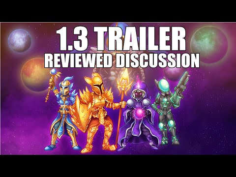 FULL REVIEW   Terraria 1.3 Trailer