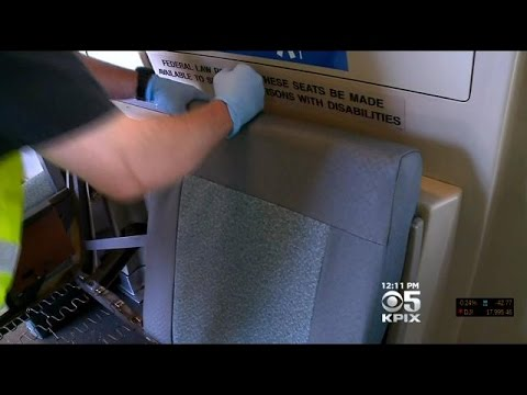 Last Wool Seat Pulled Off Bart, Replaced With New Vinyl Versions