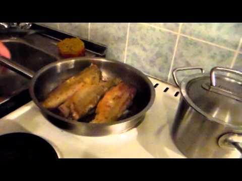 навага рецепты приготовления в духовке со сметаной