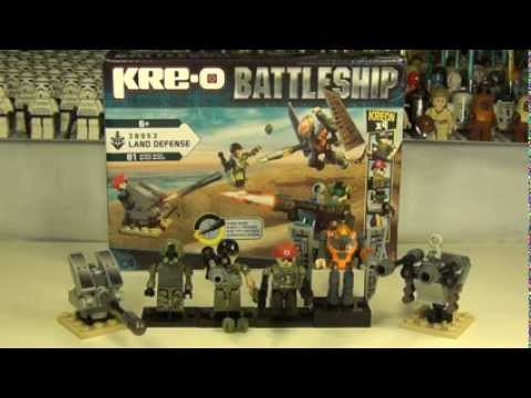 Hasbro Kre-o Battleship Land Defense Set 38953 Review