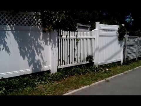 Видео как выбрать забор