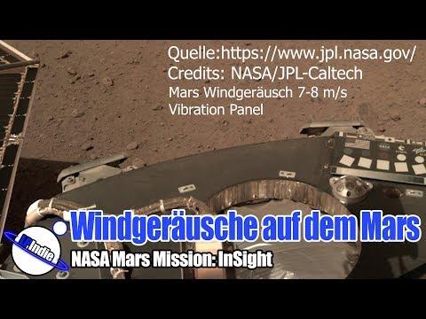 Sensationell: Windgeräusche auf dem Mars - InSight Mission - 08.12.2018
