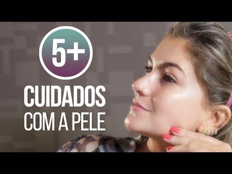 5Mais: Cinco cuidados com a pele por Alice Salazar
