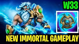 New Immortal Gameplay - W33 Zeus - Dota 2