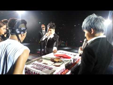 Video: BIGBANG - Seungri's B-Day in HK @ Alive GALAXY Tour 2012