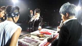 BIGBANG - Seungri's B-Day in HK @ Alive GALAXY Tour 2012