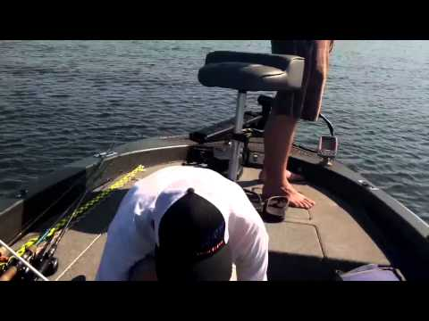 Bass Fishing Central Lake in Orlando, Florida