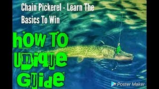 Fishing Planet Game| How To Catch The Unique Chain Pickerel In New York , Unique Sauger in New York