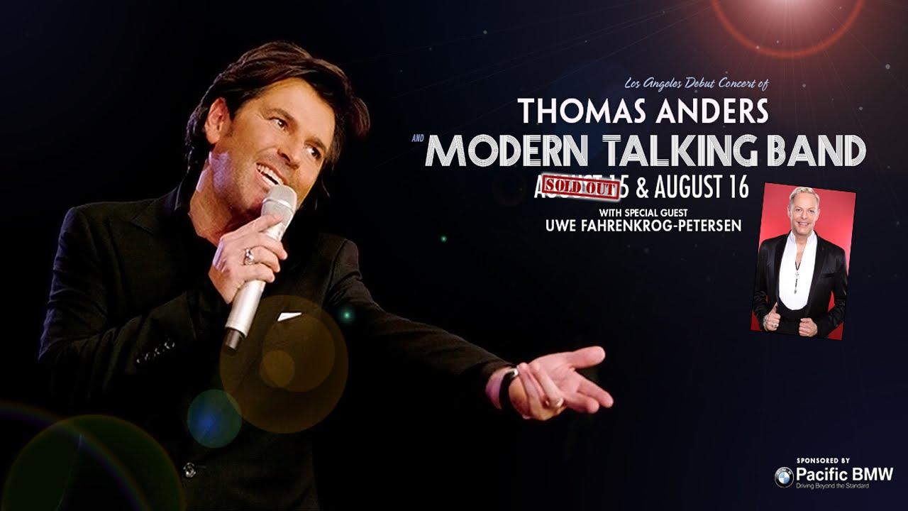 Modern Talking Band Thomas Anders Modern Talking