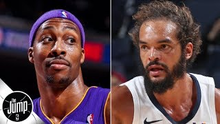 The Lakers made a mistake by signing Dwight Howard over Joakim Noah - Nick Friedell | The Jump