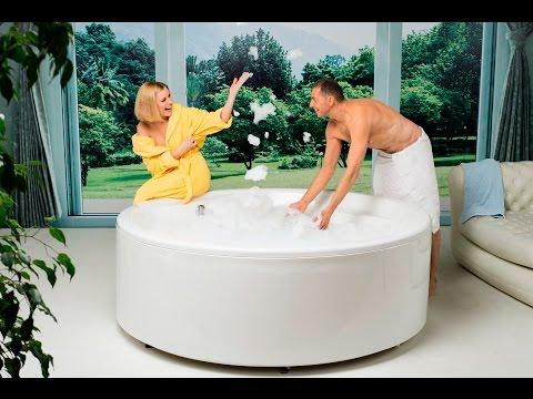 Allegra by Aquatica Round Freestanding Acrylic Bathtub Infomercial