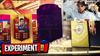 FIFA 19 GOLD 3 EXPERIMENT 🔥 WAHR ODER MYTHOS ?! 😱😱Pack Opening Wakez