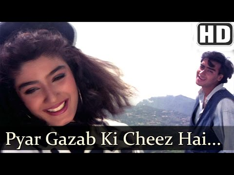 Pyar Gazab Ki Cheez Hai (HD) - Ek Hi Raasta Songs - Ajay Devgan & Raveena Tandon - 90s Hindi Hits