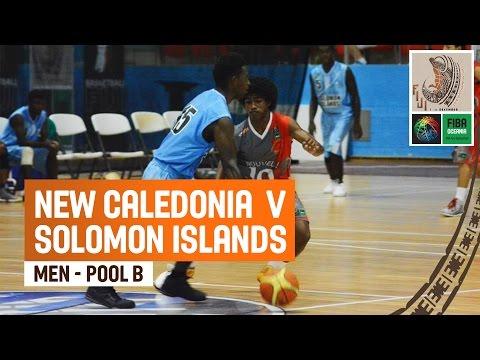 New Caledonia v Solomon Islands (Men) - Full Game - 2014 FIBA Oceania U19 Championship