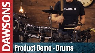 Alesis Surge Mesh Electronic Drum Kit Demo