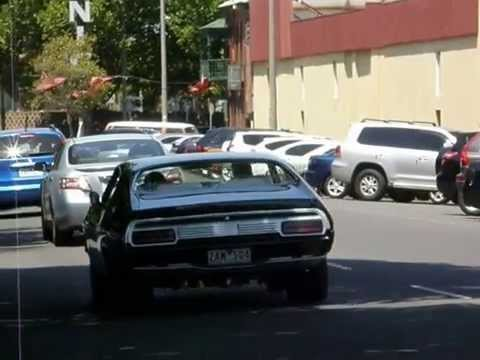 FORD falcon  XB  COUPE BLACK