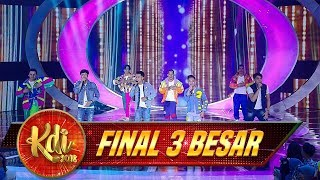 Download Lagu Zona Super Group Abi Ft  Danias, Mahesya & Yogie - Final 3 Besar KDI (25/9) Gratis STAFABAND