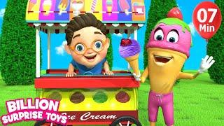 Little Babies ICE CREAM   Children Songs   3D Baby Nursery Rhyme & Kids Song