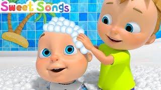 Bath Song - Nursery Rhyme | Sweet Songs for Babies