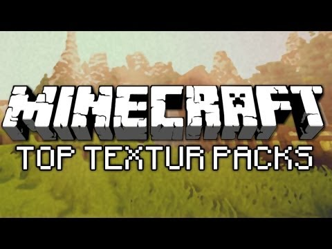 Minecraft 1.7 TOP 5 TEXTURE PACKS!