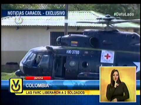 Liberados dos soldados secuestrados por las FARC en el este de Colombia