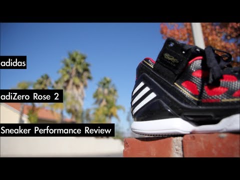 adidas adiZero Rose 2 Performance Review