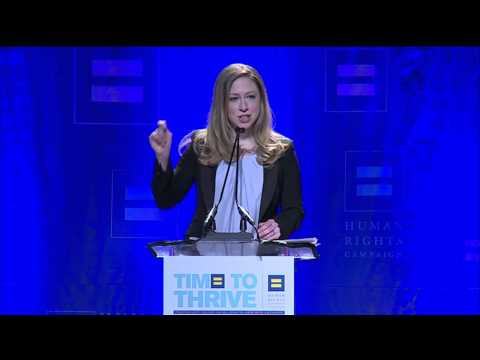 Chelsea Clinton at the HRC Time To THRIVE Conference