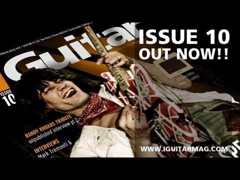Eddie Van Halen - iGuitar Free Online Magazine Issue 10 - Out Now!!