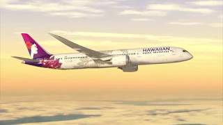 Hawaiian Airlines Coach Class from Honolulu to Kauai