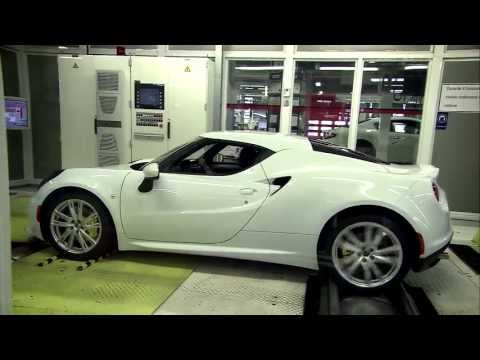 Alfa Romeo 4C: Produzione Officine Alfa Romeo Modena [Modena Plant]