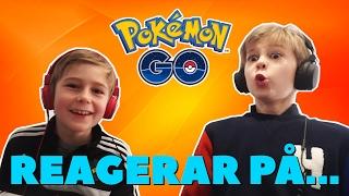 Pokemon Go! | REAGERAR PÅ PAPPAS FÖRSTA POKEMON-JAKT!!