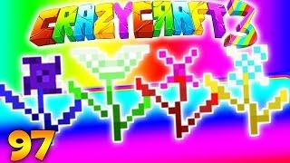 Minecraft CRAZY CRAFT 3.0 - CRYSTAL DIMENSION #97