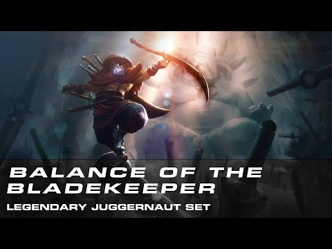 Dota 2 Balance of the Bladekeeper (Legendary Juggernaut Set)