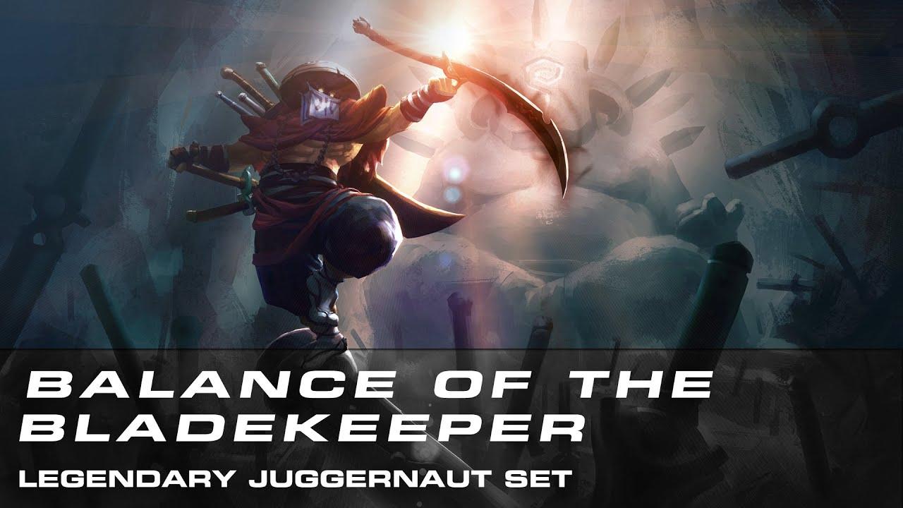 Dota 2 Balance Of The Bladekeeper Legendary Juggernaut