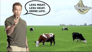 """Less Meat. Less Heat. More Life."" 