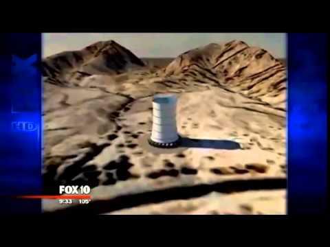 Solar Wind Energy Tower on FOX KSAZ 10, AZ