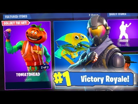 PRO 10 YR OLD FORTNITE PLAYER | TOMATO HEAD SKIN OUT | GIVEAWAYS | (Fortnite: Battle Royale) thumbnail