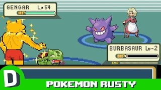 Pokemon Rusty: The Elite Four