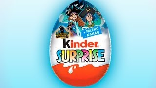 Kinder Surprise Egg Monsters Pirates open Surprise Eggs from Europe