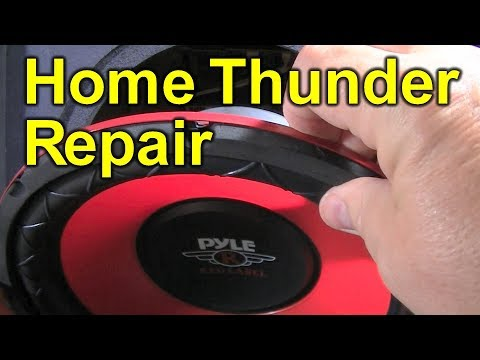 Buy Replacement Subwoofer Speaker for Home Theater - Use Cheap Car Audio Cone - Pyle Sub Review