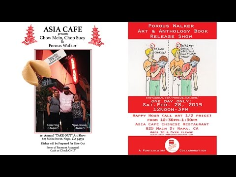 Asia Cafe Presents: Chow Mein, Chop Suey & Porous Walker Timelapse