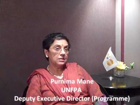 Purnima Mane Unfpa Interview With Purnima Mane at